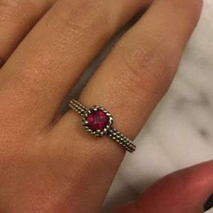 Jewelry - Authentic Ruby 925 Silver Ring